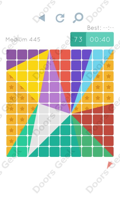 Cheats, Walkthrough for Blocks and Shapes Medium Level 445