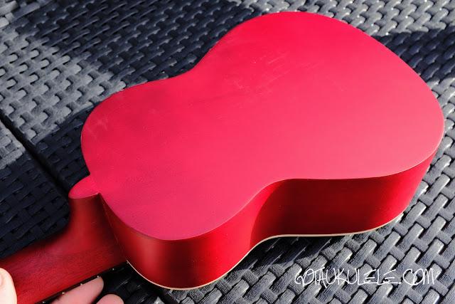Fender Venice Sopano Ukulele back