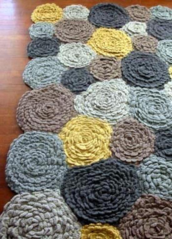 Em 233 Rita Desastre Crochet Alfombras Para So 241 Ar