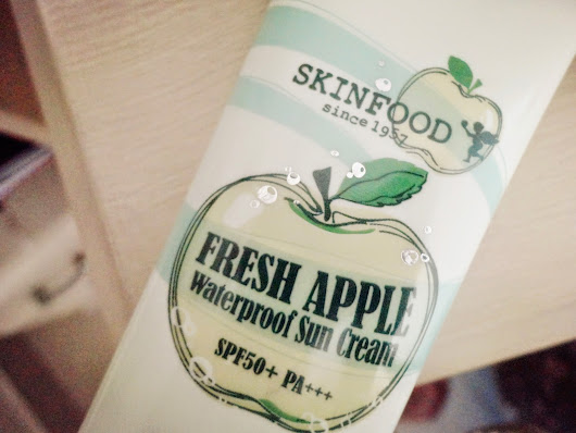 [Review] Skinfood Fresh Apple Waterproof Sun Cream (2014-04-21)