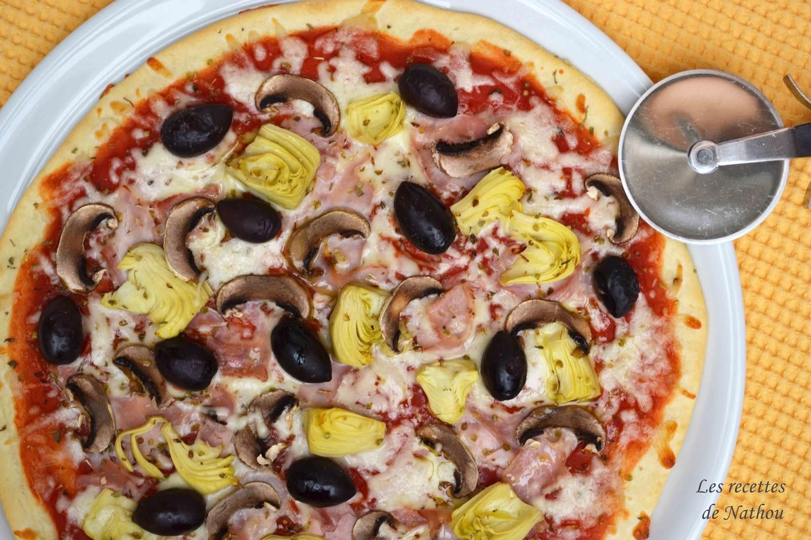 Pizza 4 saisons blogs de cuisine - Blogs recettes de cuisine ...