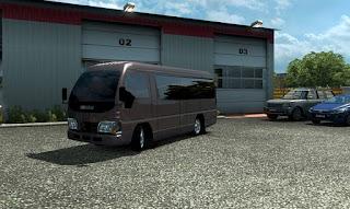 Mod MicroBus Elf Euro truck simulator 2 mod yuli indrayana