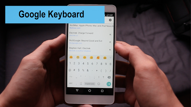 6 Aplikasi keyboard android terbaik dan paling recomended - Google Keyboard