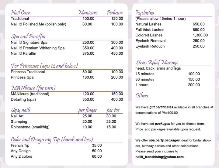 Style and soul precious moments nail pampering sessions for F salon jaipur price list