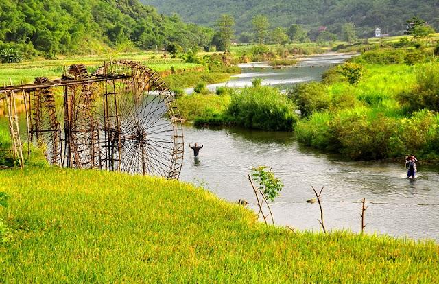 "Pu Luong in ripe rice season ""beautiful as paradise"""