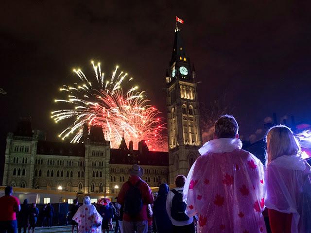 Ano Novo em Ottawa