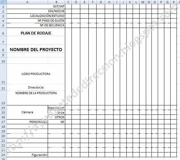Ayudante De Direccion El Plan De Rodaje