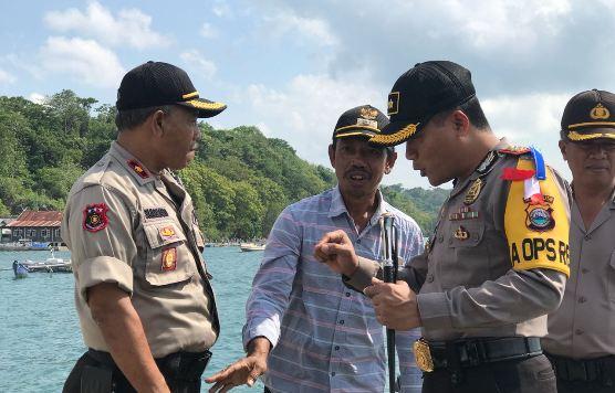 Kapolres Kep. Selayar, Pantau Seluruh TPS di Pulau Pasi Gusung