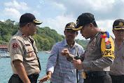 Kapolres Kep. Selayar Pantau Seluruh TPS di Pulau Pasi Gusung