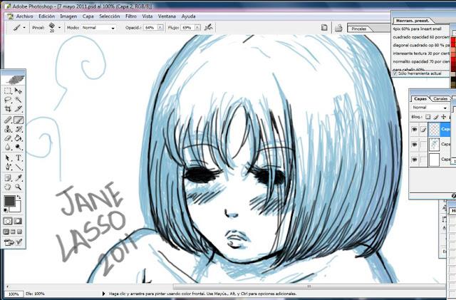 Dibujos Y Sketches De Jane Lasso: Mayo 2011