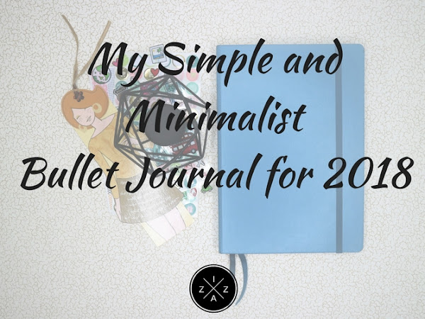 My Simple and Minimalist Bullet Journal for 2018