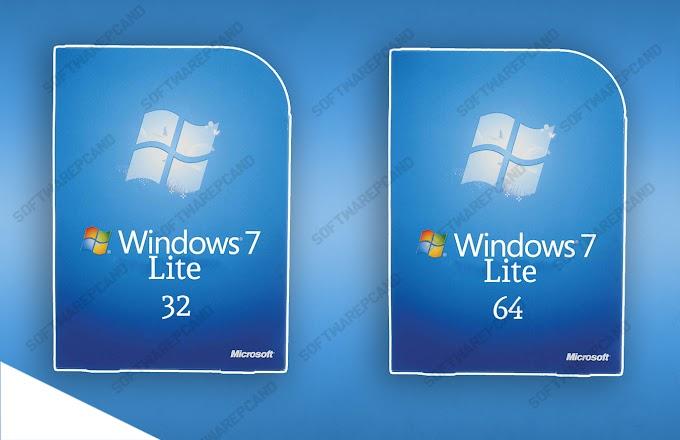 Windows 7 LITE ISO 32 et 64Bits