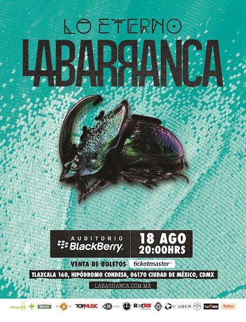 LA BARRANCA EN AUDITORIO BLACKBERRY