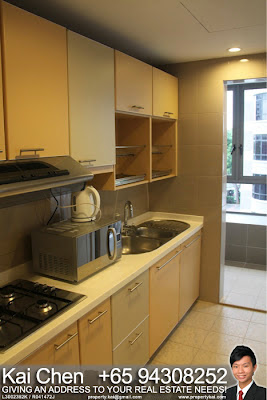 Fortville Service Apartment Singapore - Kitchen