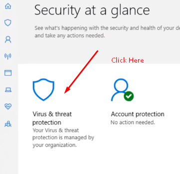 Windows defender virus protection repair
