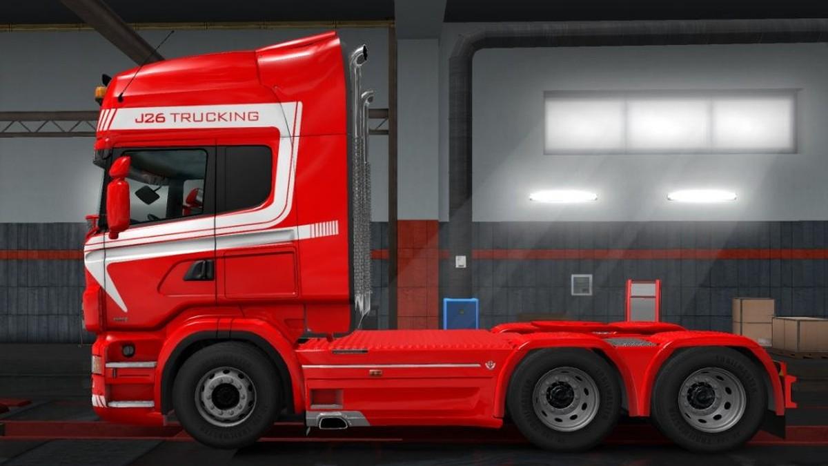 Scania RJL J26 Trucking Skin