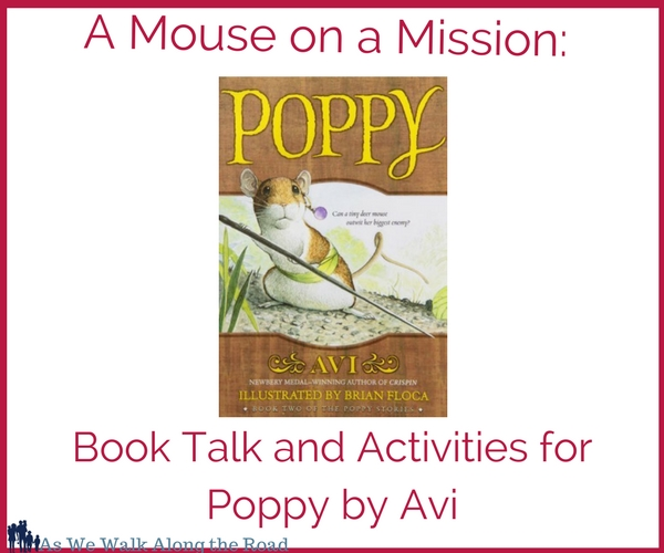 Poppy by Avi literature unit activities