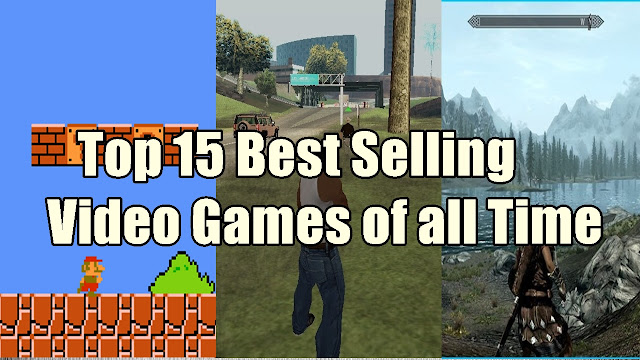 Top 15 best selling video games of all time - qasimtricks.com