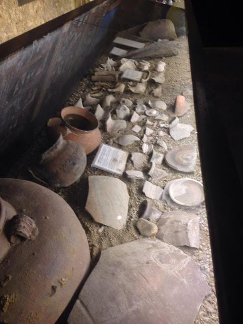 Chinese earthenware at the Museo Parian sa Sugbo