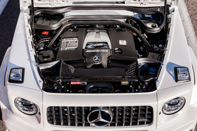 2018 Mercedes-Benz G63 AMG Engine