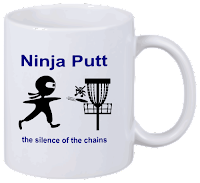 Disc Golf Tasse Ninja Putt