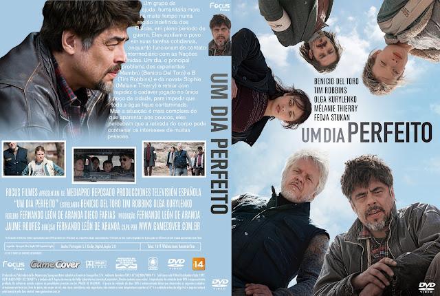Capa DVD Um Dia Perfeito [Exclusiva]