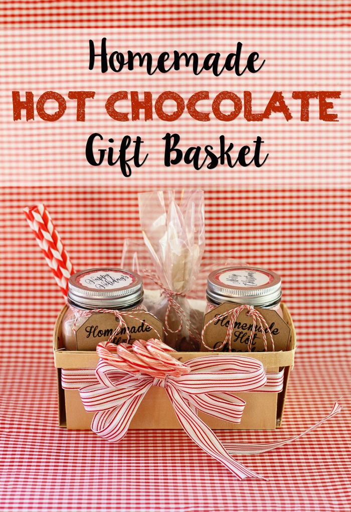 Running From The Law Diy Homemade Hot Chocolate Gift Basket