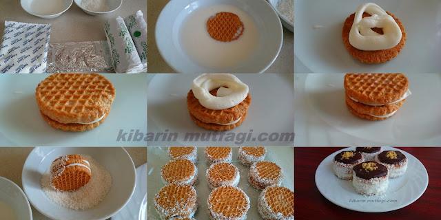 Burçak bisküvili mini pasta için malzemeler  imamın sarığı tatlı farklı pasta tarifleri, pratik pasta tarifleri