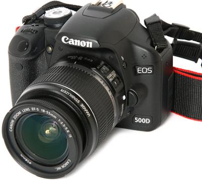 Review Spesifikasi dan Harga Kamera Dslr Canon Eos 500D