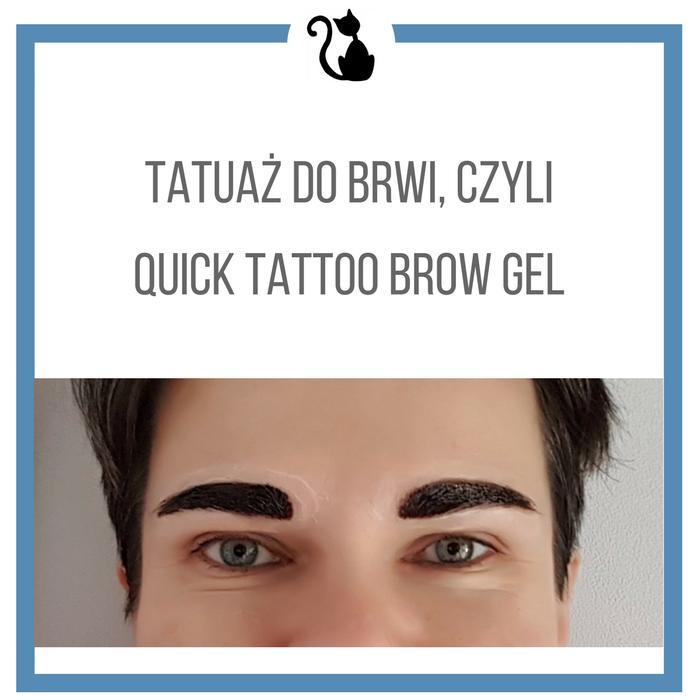 Tatuaż do brwi w żelu, recenzja