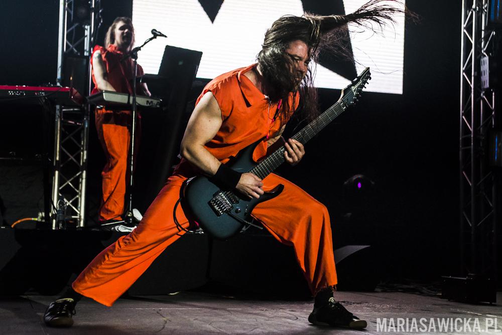 Pekka Olkkonen Pexi Stam1na Sakara Tour 2016 Espoo Ibanez guitars