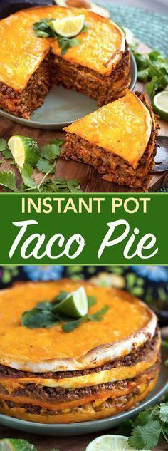 Instant Pot Taco Pie Recipes