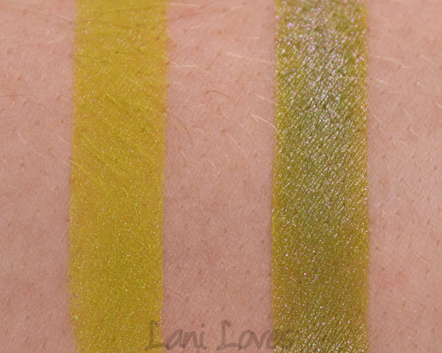 Darling Girl He Slimed Me eyeshadow swatches & review
