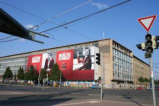 Alte Hauptpost am Augustusplatz im August 2015
