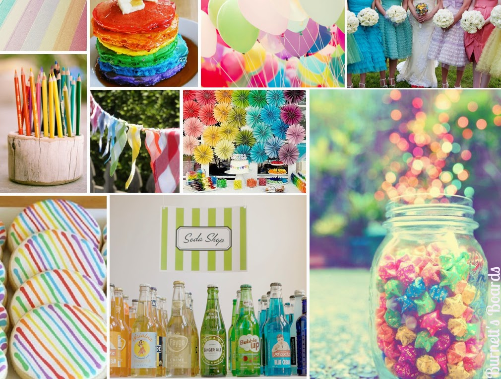 Memorable Wedding: Wedding Planning: Creating A Rainbow