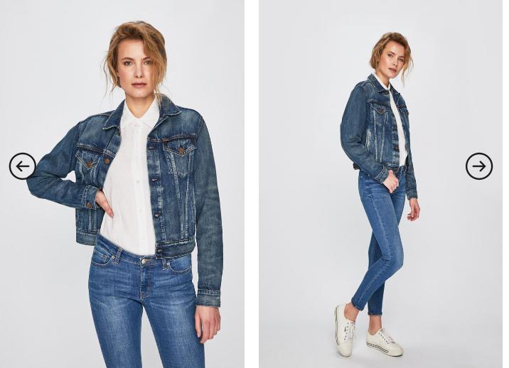 Polo Ralph Lauren - Geaca jeans originala de primavara