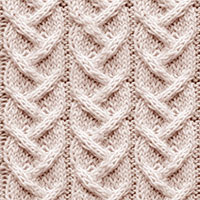 Twist Cable 9: Alternating Cable | Knitting Stitch Patterns.