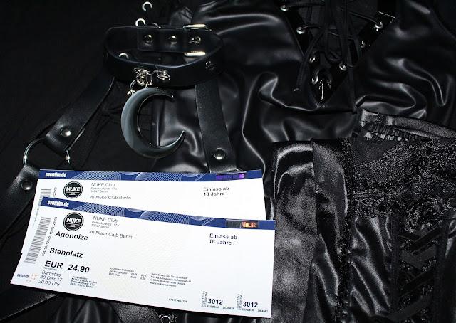 AGONOIZE-Konzert-Tickets