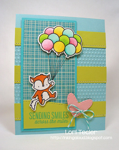 Sending Smiles-designed by Lori Tecler/Inking Aloud-stamps from Mama Elephant
