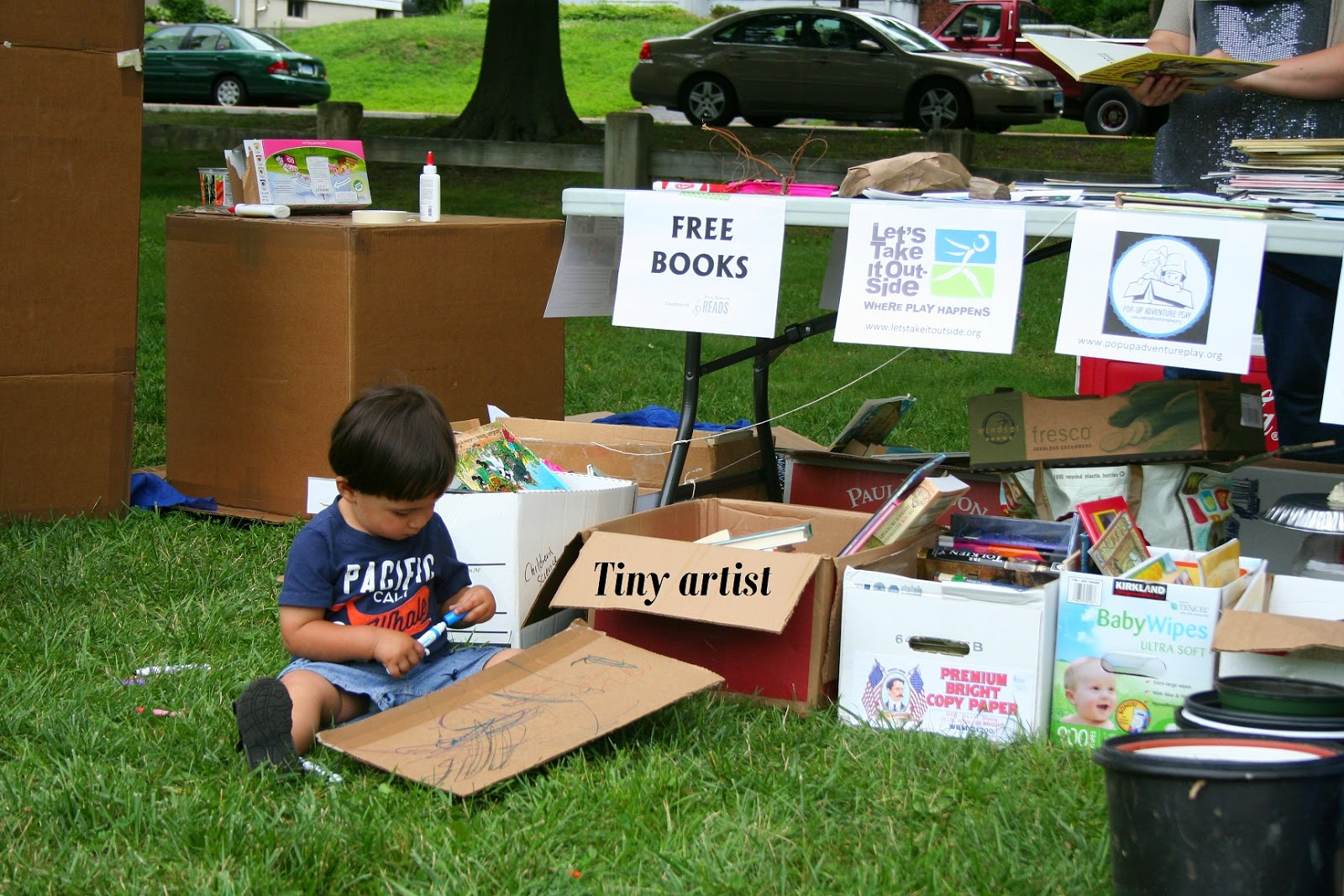 Pop-Up Stories from New Haven