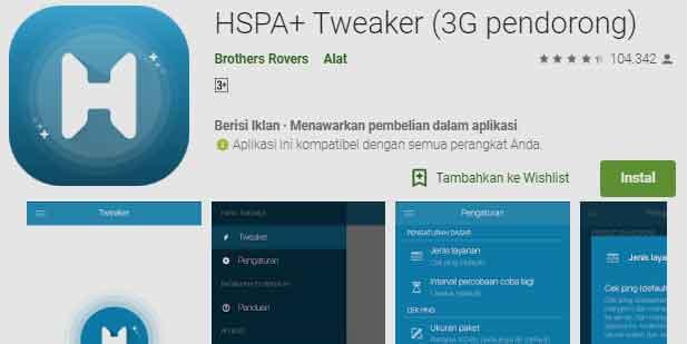 aplikasi hspa tweaker pendorong sinyal menjadi lebih cepat