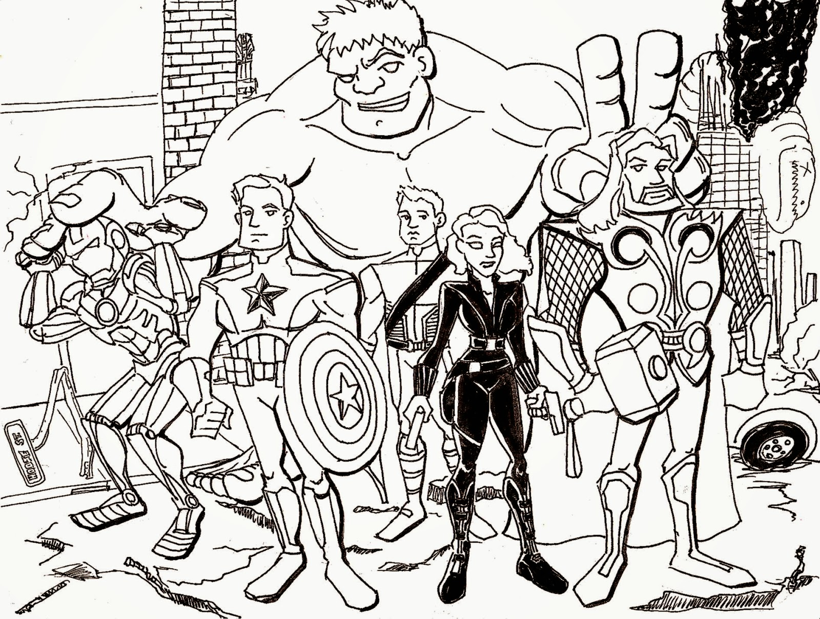 Avengers coloring pages   coloring pages for