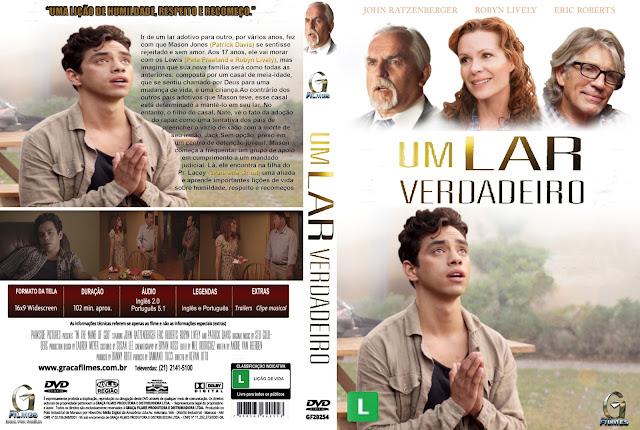 Capa DVD Um Lar Verdadeiro
