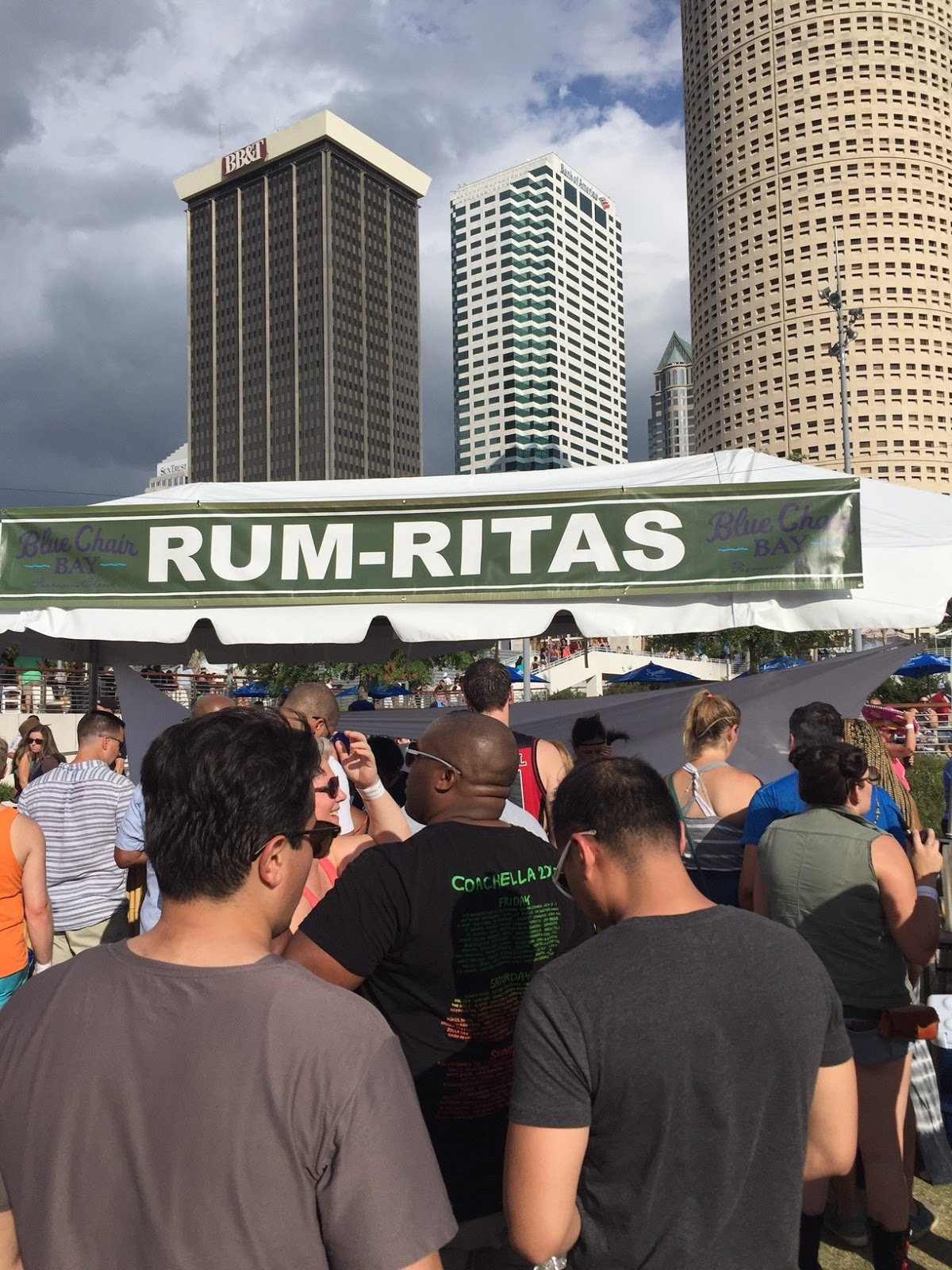 Tampa Margarita Festival Drink Prices