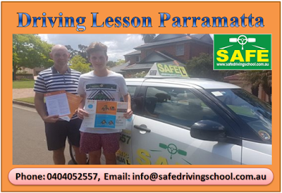 Driving Lesson Parramatta
