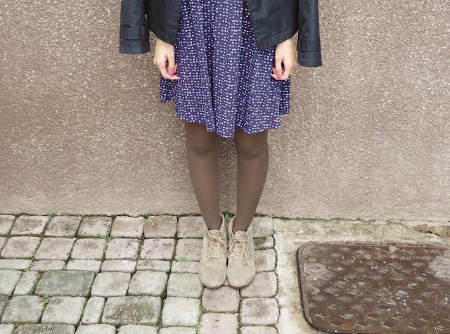 Look de Outono com Vestido de coração Marisa