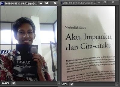 "Cerpen ""Aku dan Cita-citaku"" dalam kumpulan ""Laskar Pejuang Mimpi – Digibooks 2012"