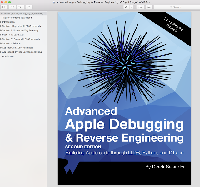 Advanced Apple Debugging & Reverse Engineering update Xcode 9