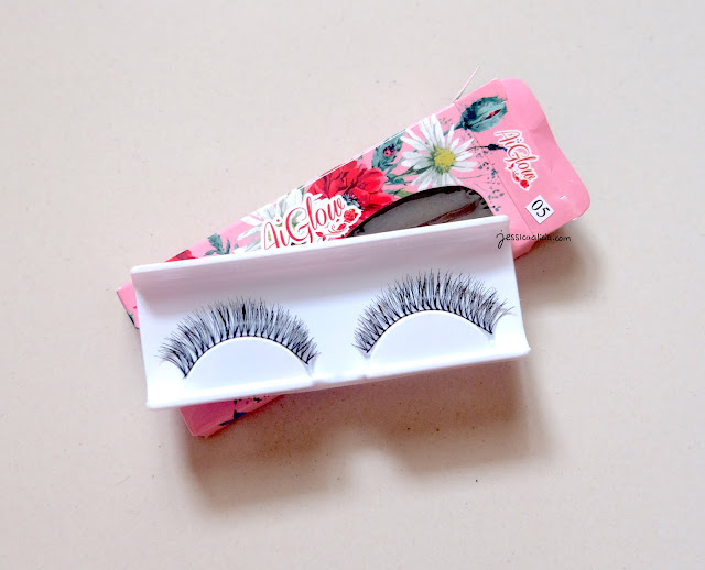 Aiglow Lashes Jessica Alicia review