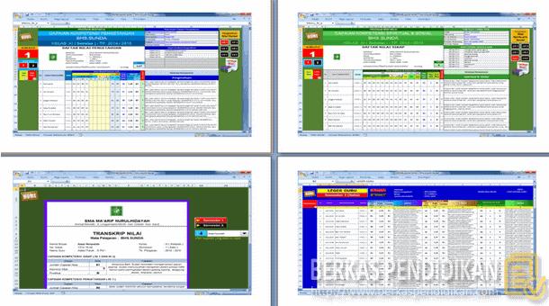 Aplikasi Pengolahan Nilai Capaian Kompetensi SMA Kurikulum 2013
